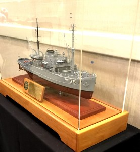 USS Conserver Model in case image